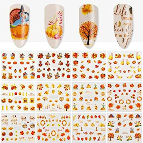 Autumn-Nail-Art-Stickers-Decals-2019-12