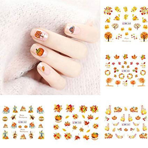 Autumn-Nail-Art-Stickers-Decals-2019-5
