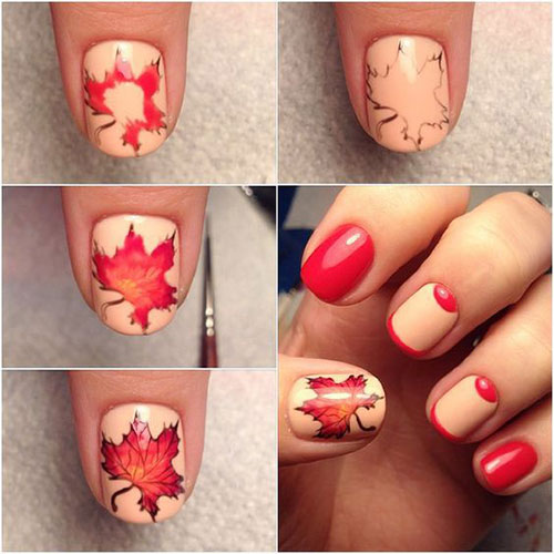 Autumn-Nail-Art-Tutorials-For-Beginners-2019-14