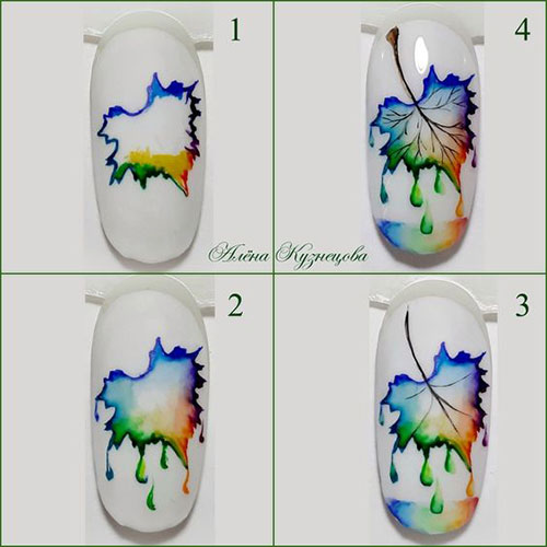 Autumn-Nail-Art-Tutorials-For-Beginners-2019-6