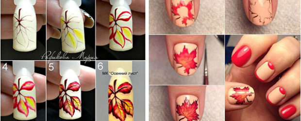 Autumn-Nail-Art-Tutorials-For-Beginners-2019-F