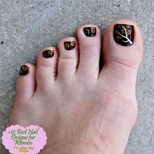 Autumn-Toe-Nail-Art-Designs-Ideas-2019-Fall-Nails-1
