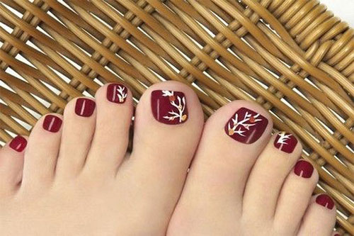 Autumn-Toe-Nail-Art-Designs-Ideas-2019-Fall-Nails-4
