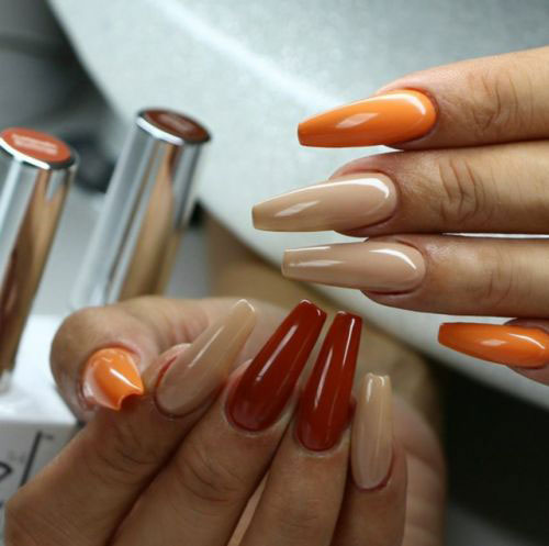 Easy-Fall-Autumn-Nail-Art-Trends-Ideas-2019-10