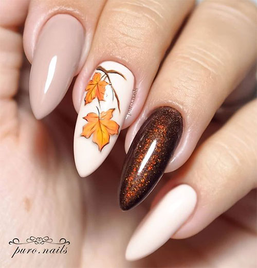 Easy-Fall-Autumn-Nail-Art-Trends-Ideas-2019-3