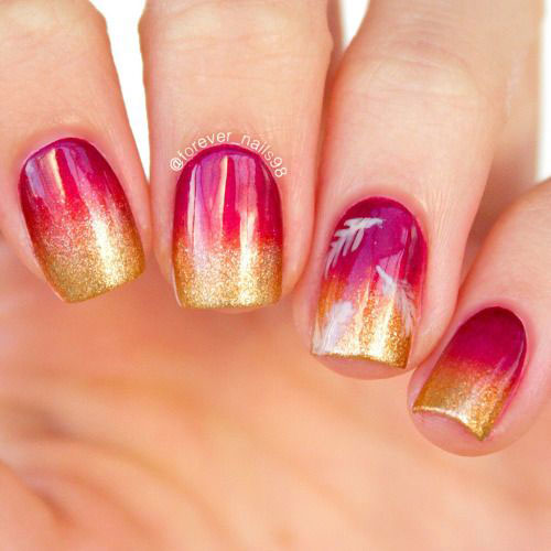 Easy-Fall-Autumn-Nail-Art-Trends-Ideas-2019-6