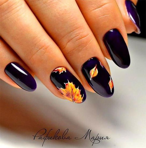 Easy-Fall-Autumn-Nail-Art-Trends-Ideas-2019-8