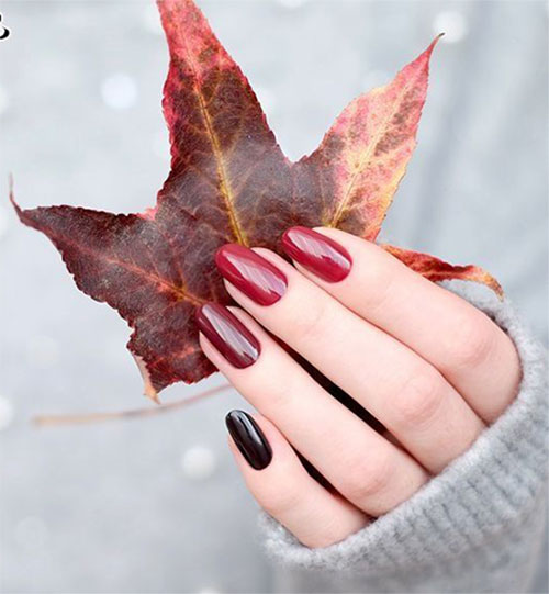 Easy-Fall-Autumn-Nail-Art-Trends-Ideas-2019-9
