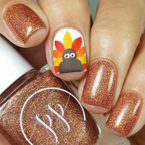 Easy-Simple-Thanksgiving-Nail-Art-Designs-2019-1
