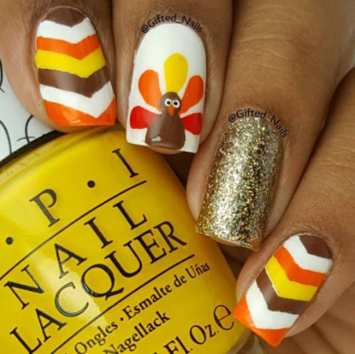 Easy-Simple-Thanksgiving-Nail-Art-Designs-2019-10