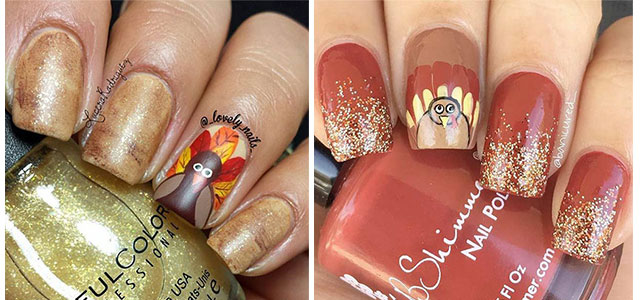 Happy-Thanksgiving-Nails-Art-Designs-2019-F