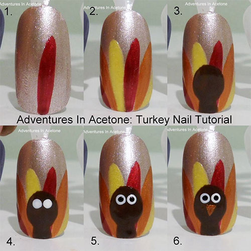 Step-By-Step-Thanksgiving-Nail-Art-Tutorials-2019-2
