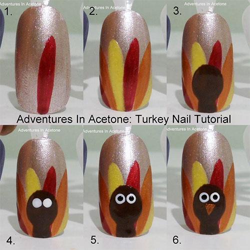 Step-By-Step-Thanksgiving-Nail-Art-Tutorials-2019-2
