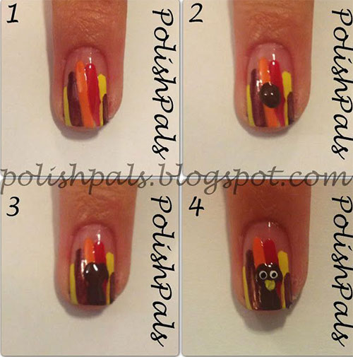 Step-By-Step-Thanksgiving-Nail-Art-Tutorials-2019-3