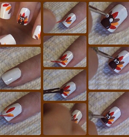 Step-By-Step-Thanksgiving-Nail-Art-Tutorials-2019-9