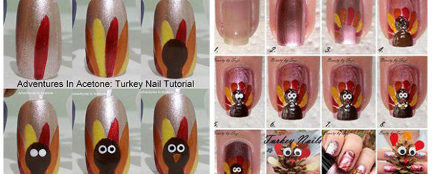 Step-By-Step-Thanksgiving-Nail-Art-Tutorials-2019-F