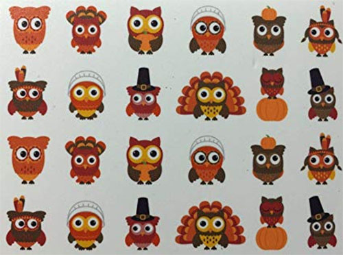 Thanksgiving-Nail-Decals-Stickers-2019-7