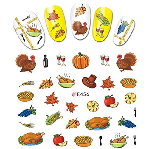 Thanksgiving-Nail-Decals-Stickers-2019-8