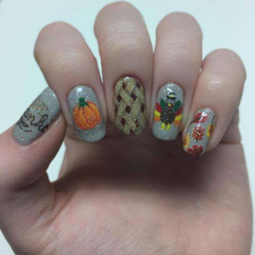Turkey-Nail-Art-Designs-Ideas-2019-Thanksgiving-Nails-15