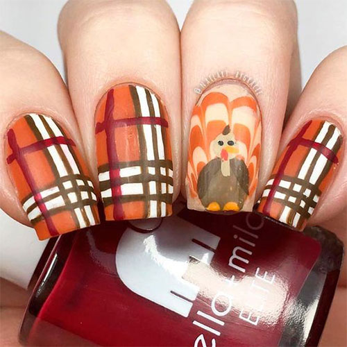 Turkey-Nail-Art-Designs-Ideas-2019-Thanksgiving-Nails-2