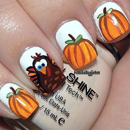 Turkey-Nail-Art-Designs-Ideas-2019-Thanksgiving-Nails-5