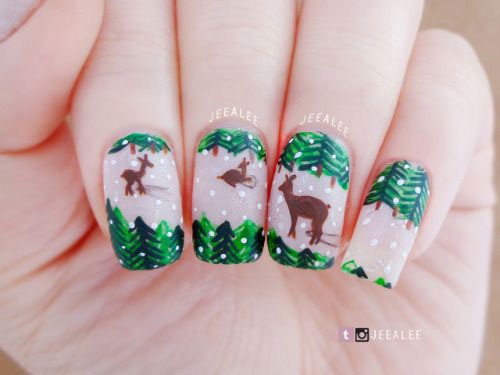 25-Festive-Christmas-Nail-Designs-Ideas-2019-Holiday-Nails-16