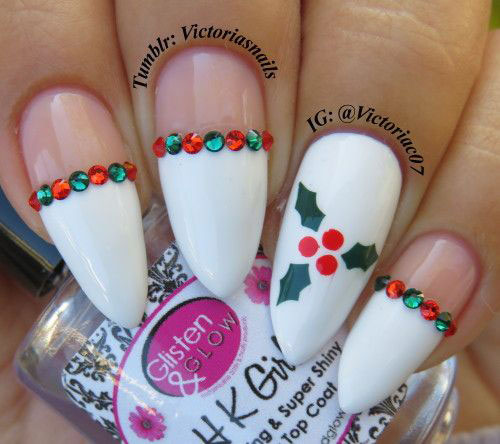 25-Festive-Christmas-Nail-Designs-Ideas-2019-Holiday-Nails-21
