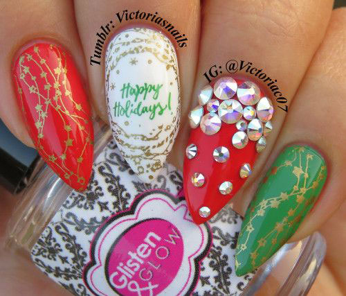 25-Festive-Christmas-Nail-Designs-Ideas-2019-Holiday-Nails-7