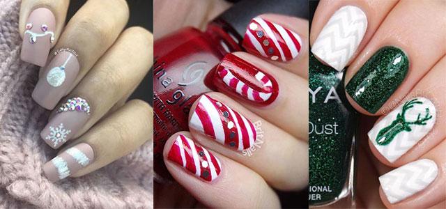 25-Festive-Christmas-Nail-Designs-Ideas-2019-Holiday-Nails-F