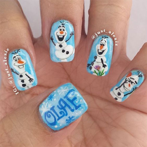30-Disney-Frozen-Nails-Art-Designs-2019-16