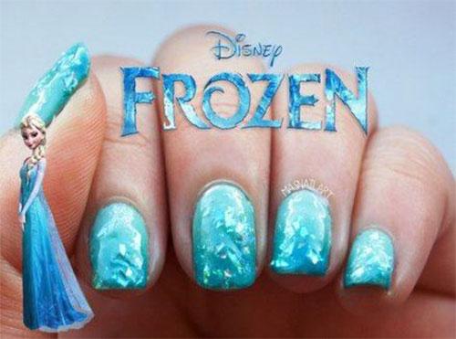 30-Disney-Frozen-Nails-Art-Designs-2019-17