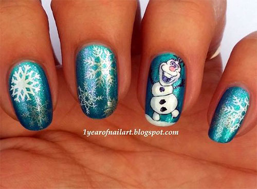 30-Disney-Frozen-Nails-Art-Designs-2019-18