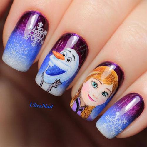 30-Disney-Frozen-Nails-Art-Designs-2019-2