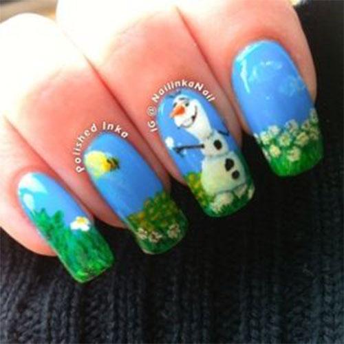 30-Disney-Frozen-Nails-Art-Designs-2019-20