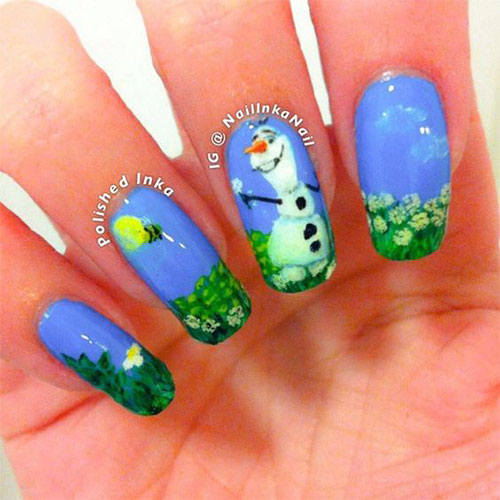30-Disney-Frozen-Nails-Art-Designs-2019-21