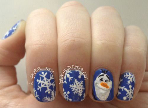 30-Disney-Frozen-Nails-Art-Designs-2019-22