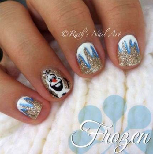 30-Disney-Frozen-Nails-Art-Designs-2019-26