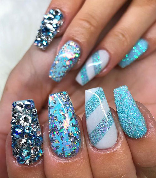 30-Disney-Frozen-Nails-Art-Designs-2019-27
