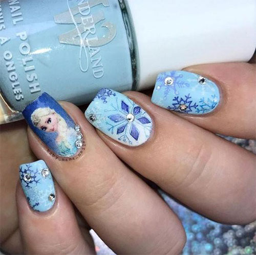 30-Disney-Frozen-Nails-Art-Designs-2019-28