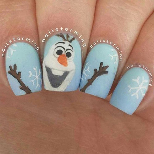 30-Disney-Frozen-Nails-Art-Designs-2019-4