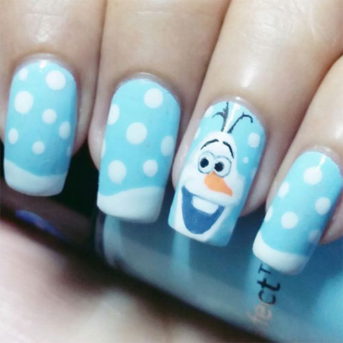 30-Disney-Frozen-Nails-Art-Designs-2019-8