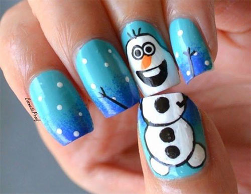 30-Disney-Frozen-Nails-Art-Designs-2019-9