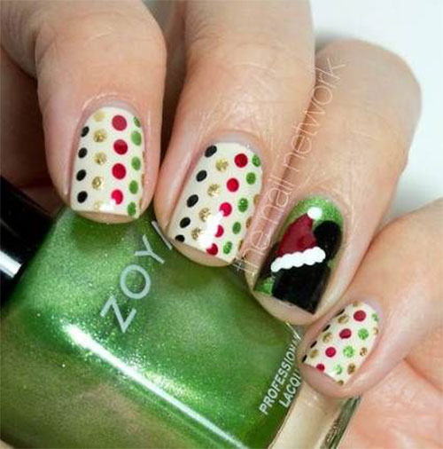 Christmas-Disney-Nails-Art-Designs-2019-7