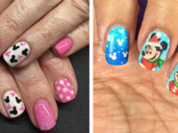 Christmas-Disney-Nails-Art-Designs-2019-F