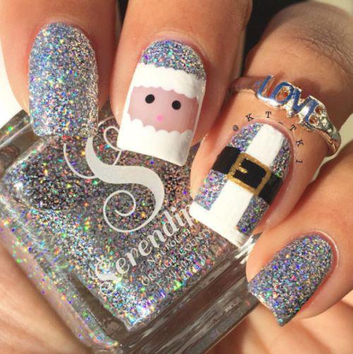Christmas-Glitter-Nail-Art-Designs-2019-Xmas-Nails-10