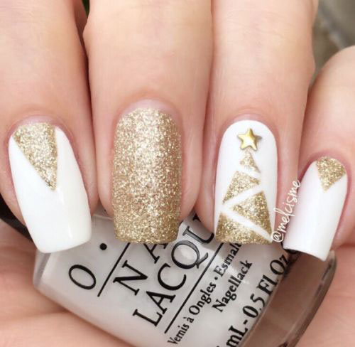 Christmas-Glitter-Nail-Art-Designs-2019-Xmas-Nails-13