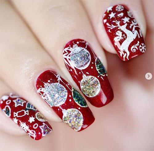 Christmas-Glitter-Nail-Art-Designs-2019-Xmas-Nails-4