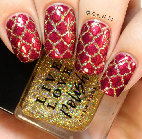Christmas-Glitter-Nail-Art-Designs-2019-Xmas-Nails-6
