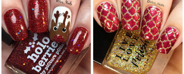 Christmas-Glitter-Nail-Art-Designs-2019-Xmas-Nails-F