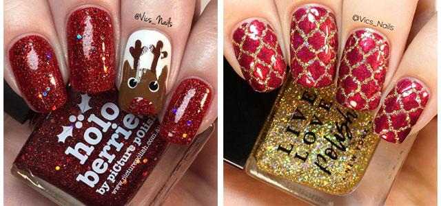 Christmas-Glitter-Nail-Art-Designs-2019-Xmas-Nails-F
